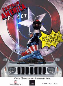 Capitan American e Wonderwoman vi aspettano questo week end.