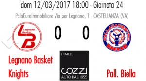 Legnano Basket Knights Vs Biella
